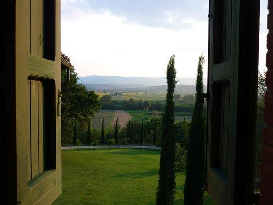 Agriturismo I Gergoni: Dit is het uitzicht vanuit de keuken van Casa Emilia