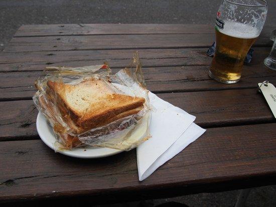 Climber's Inn : Unser Abendessen :-(