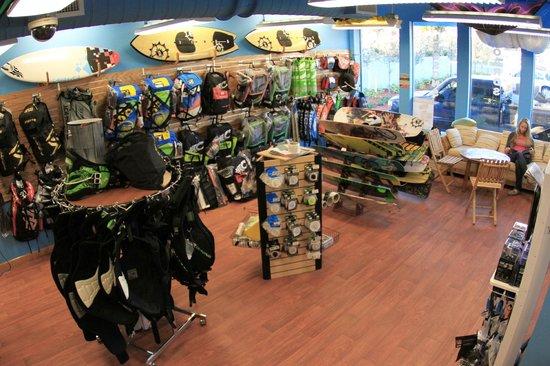Ron Jon Kiteboarding Shop and School: Fully Stocked