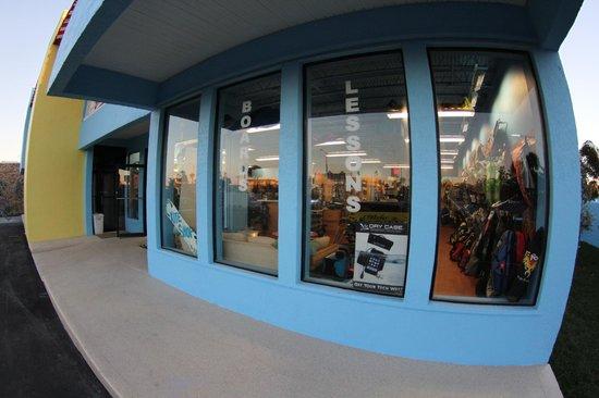 Ron Jon Kiteboarding Shop and School: Front Window