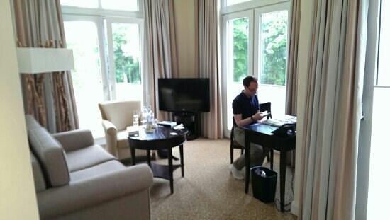 Upstalsboom Hotelresidenz & SPA Kuhlungsborn : Wohnzimmer
