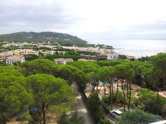 Hotel Garbi : View from our room in new wing