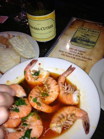 Doc Ford's Rum Bar & Grille Captiva : Yucatan Shrimp. Heaven in a bowl.