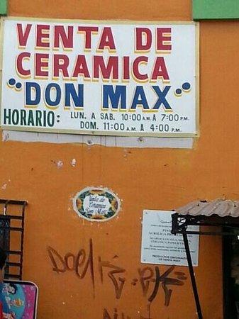 Don Max - Venta de Ceramica