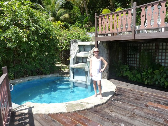 Fond Doux Plantation & Resort: The lower pool