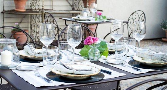 La Casa de los Tomillares: Comedor exterior