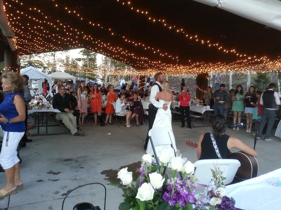 Dripping Springs Resort : wedding in Estes Park