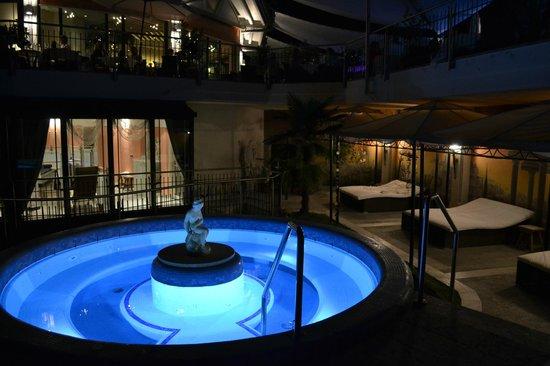 Hotel Weinegg: idromassaggio esterno