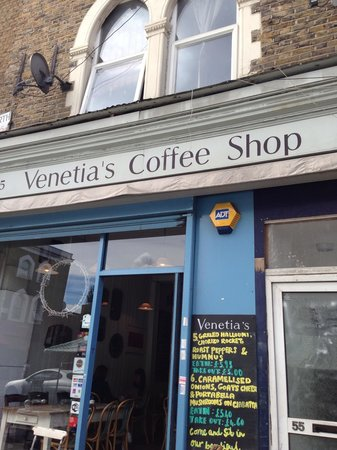 Venetia's coffee shop