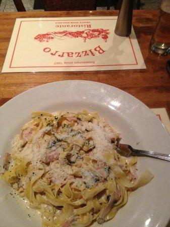 Bizzarro: delicious pasta