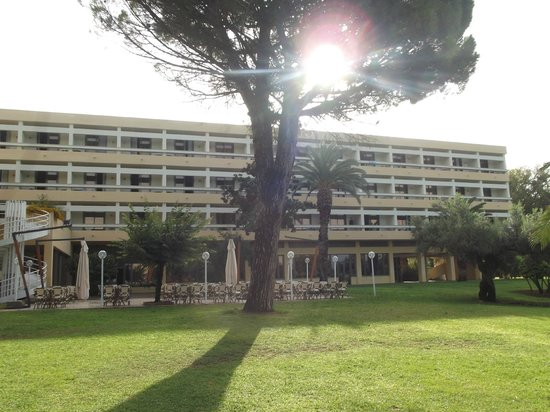 Club Lipari Hotel : façade de l'hôtel