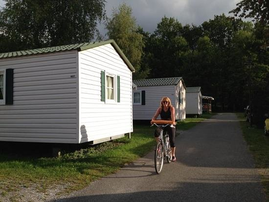 Village Camping Europa: That's breakfast sorted! Chalets at Camping Europa