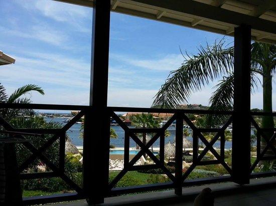 La Maya Beach Luxury Apartments: vista da minha varanda