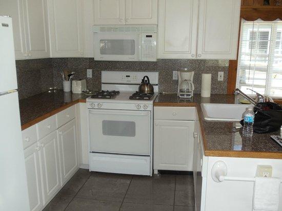 Birch Bay Get Away : Typical cabin kitchen