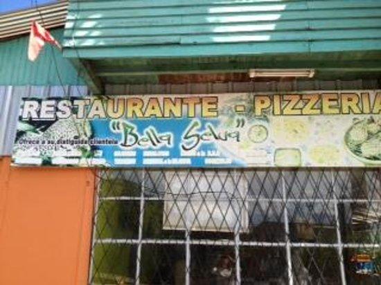 Pizzeria Bella Selva: outside sign
