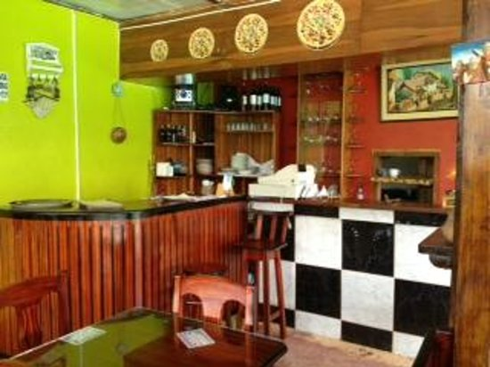 Pizzeria Bella Selva: kitchen area