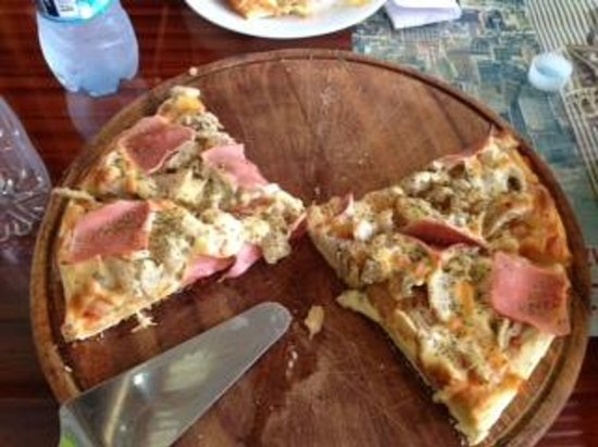Pizzeria Bella Selva: delicious pizza!