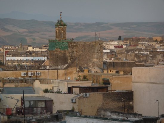 Dar Bensafi: the view from the roof