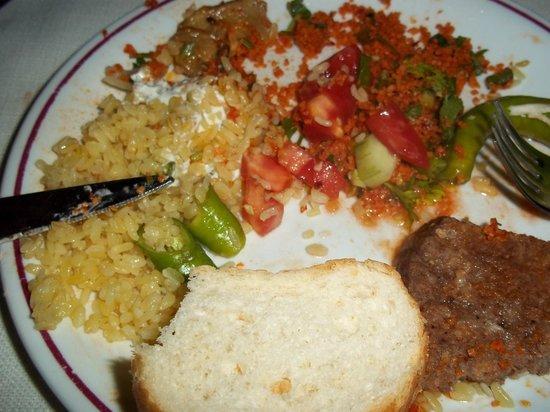 Grand Vizon: evening meal
