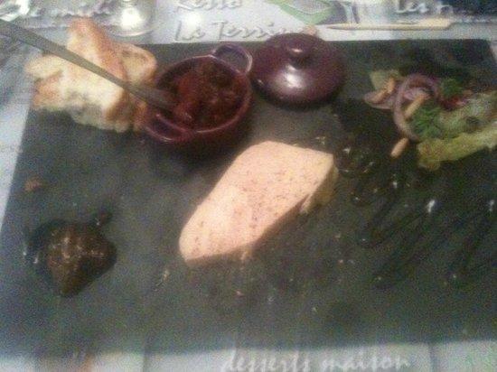 Resto La Terrine: Terrine de foie gras maison