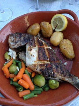 Restaurante Salmao: Daurade grillée