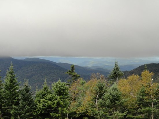 Stowe Mountain Auto Toll Road: One of the many gorgeous views!