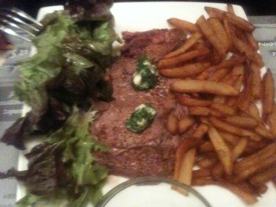 entrecote frites maison picture of resto la terrine niort tripadvisor. Black Bedroom Furniture Sets. Home Design Ideas
