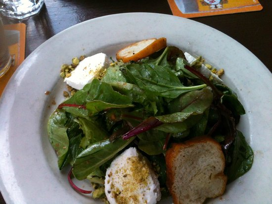 Merchants NY - 7th Ave : Pistachio Dusted Goat Cheese Salad