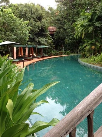 Angkor Village Resort : la piscine !