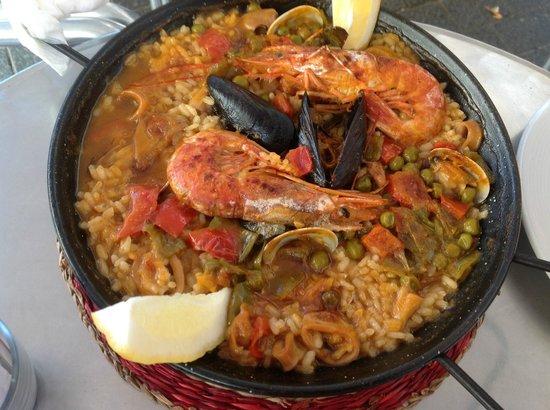 Restaurante Papitu: Paella