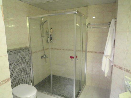 Erkaptan Apart Hotel: badeværelse