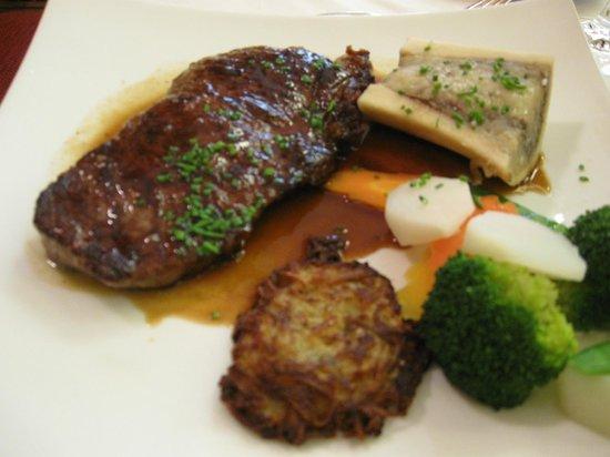 Au Bois le Sire: un plat