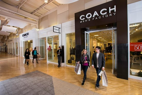 Visit the Coach store at Potomac Mills.