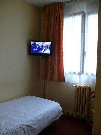 Citotel Hôtel Le Bretagne : Einzelzimmer