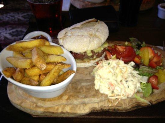 The Star Inn: Post walk burger treat!