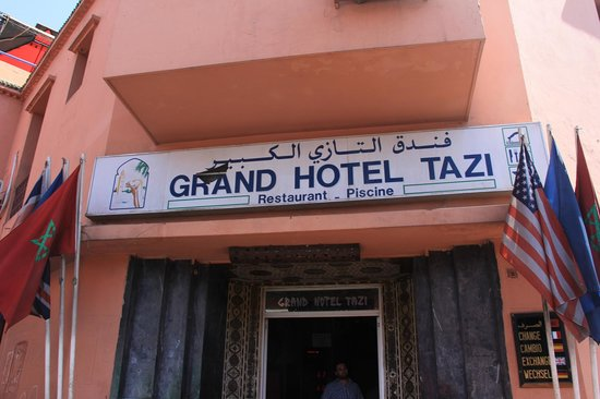 Grand Hotel Tazi: Tourist Trap - DO NOT enter!!!