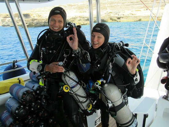 Dive Systems: passing the tec course