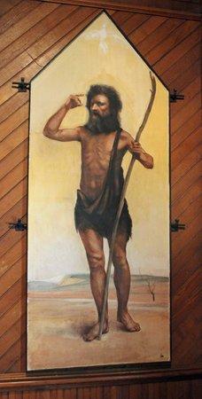 "Saint Mary's Episcopal Church: ""John the Baptist"" Fresco"