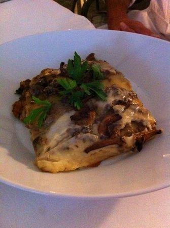 Ristorante Hanswirt: lasagne aux girolles