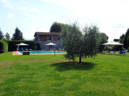 Casolare Lucchese : giardino