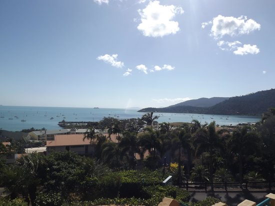 Toscana Village Resort: Overlooking Airlie Beach from Room 24