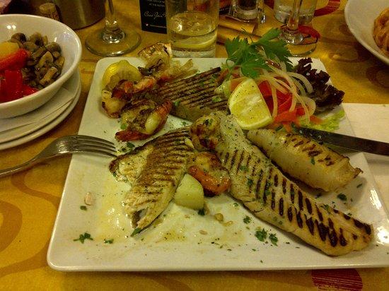 bar italia: Grigliata di pesce