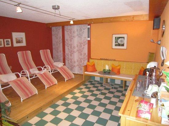 Apart-Garni Romantika : sauna