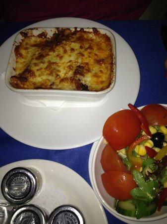 Sheraton Skyline Hotel London Heathrow : One of the meals