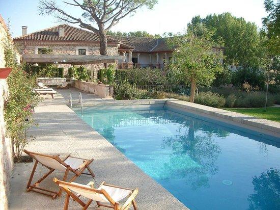 Palacio de Hoyuelos: piscina