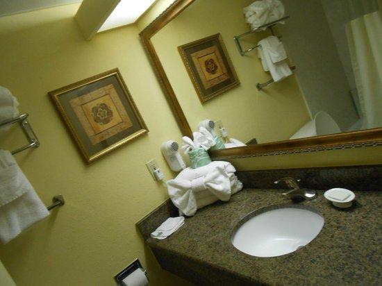 Coral Beach Resort U0026 Suites: Nice Towels In Bathroom