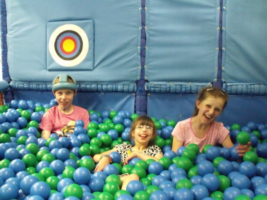 Warrington Play & Sensory Centre: Fun in the ball pool with friends