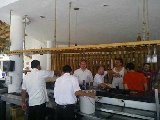 Buenaventura Grand Hotel & Great Moments All Inclusive: bar de la piscina