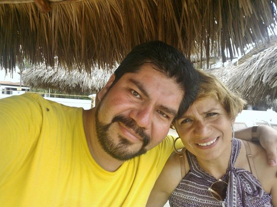 Buenaventura Grand Hotel & Great Moments All Inclusive: palapita de playa
