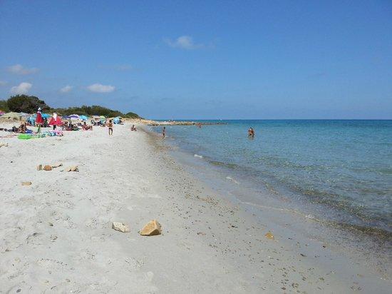 Hotel Biderrosa : Spiaggia vicino all'hotel